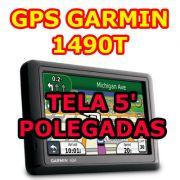 Gps Garmin Nuvi 1490T tela de 5 lancamento Brasil 2013 USA OFF Road Grava Percurso