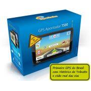 Gps Apontador SlimWay Tela 5 Tv Digital T500 T501 Historico de Transito