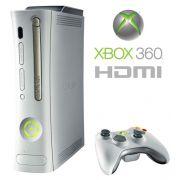 Xbox 360 Arcade + 2 Jogos Originais Nota Fiscal HDMI Full HD