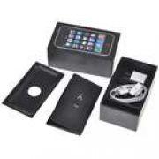 Kit 5 X 1 Para Iphone 3gs Black Caixa Manual Carregador 3g