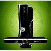 Xbox 360 Slim C/ Kinect Sensor completo Full HD Nota Fiscal