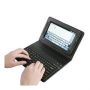 Case Capa Couro com teclado bluetooth Samsung galaxy p1000 p6200  tablet