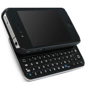 Capa Teclado Bluetooth Slide Iphone 4 4s Case 2.0 USB Slim