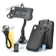 Samsung Galaxy S i9000 Kit 8x1 Capa Carregador Veicular USB
