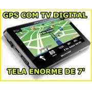 Gps Multilaser Tracker 7 tela Tv digital Frete Grátis Unlock