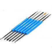 Ferramentas DIY Profissional Solda Aid Tools Kit 6 peças LUX