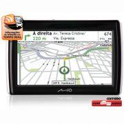 Gps Mio S505 Pacote full 2.2 128 memoria Brinde Sd Card BR