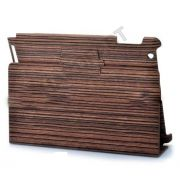 Capa Ipad 3 New Ipad madeira Wood Textured Wood Pattern PVC