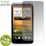 2x Película HTC One X Frete Grátis 2 peças Transparente Rack