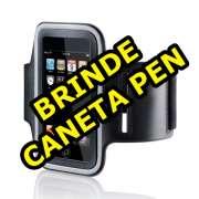 Armband Suporte Braço Iphone 5 4s 4 Caneta Pen Stylus Grátis