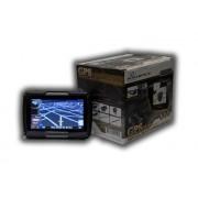 Gps Moto Powerpack tela 4.3 Bluetooth Prova Chuva Igo Brasil m450