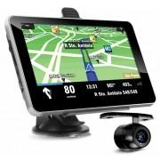 Gps Veicular Tela 7 Camera Ré Multilaser FM Igo 8 Tv digital