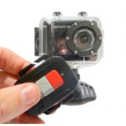 Camera FHD VD5000 60Fps Disparador Remoto 1080p 12Mp Fisheye Tipo GoPro Hero Zoom Video e Foto