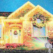 Projetor Laser Jardim Espeto Casa Sala Arvore Desenhos Iluminação Natal
