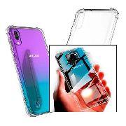 Capinha Silicone Samsung A70 Antishock + Película Gel Wlxy