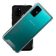 Capa Silicone Samsung Galaxy S11 Plus Edge + Pelicula Gel