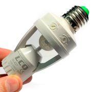 Adaptador Sensor Presença Lâmpada Bocal E27 360 Movimento