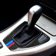 Adesivo M3 Bmw E90 2006-2011 Cambio marcha Painel Shift Carbono
