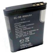 Bateria Bl-5B Primeira Linha P/ Fone B560 Radinho Mp3 mp7 Kombi Celular Nokia