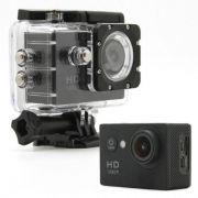 Câmera P Ação Sports Full Hd 1080p Zoom 4x 60 Fps TJ-4000 Hdmi Prova Agua Mergulho 30 metros Moto Carro