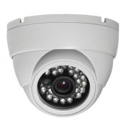 Camera Segurança Cftv Dome HD 720p 1.3Mpixel Interno Externo  Prova Chuva Digital Ccd Sony 1/3