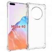 Capa Silicone Huawei Mate 40 Pro / Mate 40 Pro Plus Borda Anti choque Impacto