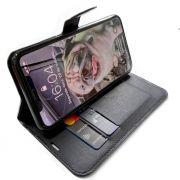 Capinha carteira Iphone 11 + Pelicula Gel Kit limpeza Wlxy Capinha