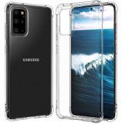 Capinha Silicone Samsung A50 Antishock + Película Gel Wlxy