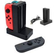 Carregador Controle Nintendo Switch Joypad 4x ao mesmo tempo