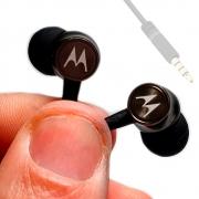 Fone De Ouvido Motorola Celular Tablet Notebook Fio Nylon Resistente Stereo Bass SH38C