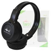 Fone Ouvido Favix B560 Fx-b560 Bluetooth Sem Fio Universal Mega Bass Fm Sd Card Preto