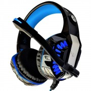 Fone Ouvido Headset Gamer P2 Usb Xbox Play Ps4 Pc Notebook Led