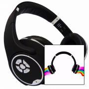 Fone Ouvido Sem fio Fr-501 Bluetooth 2 em 1 Fone e Caixa Som P/ Samsung Iphone Motorola Celular