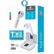 Fone Ouvido Mini Sem Fio Sumexr Sly23 Hearbuds Foninho Bluetooth 5.0 com Display