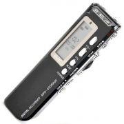 Gravador De Voz Digital Espião com 8Gb Memória Digital Alta qualidade Pequeno Discreto portátil