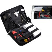 Jump Starter Carregador Portatil Bateria Moto Carro Celular Notebook Iphone Galaxy Samsung