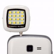 Led Flash Celular Smartfone Selfie Iphone Galaxy Lumia Xperia