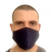 Máscara De Tecido Reutilizável Proteção Respiratória Antialérgico Wlxy