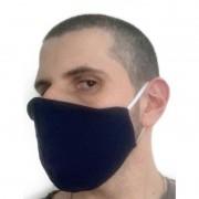 Mascara tecido Camada Dupla Lavável Higiênica Antialérgica não Descartável