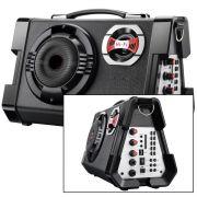 Micro System Mp3 Microfone Karaoke P10 80W Rms P/ Guitarra Caixa de Som o mais forte!