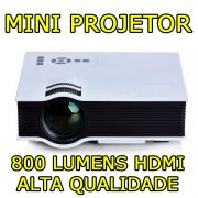 Mini Projetor Led HD mpr 7007 Hdmi Led 800 Lumens Usb Avi Xbox Ps4