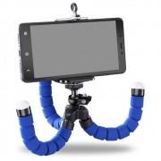 Mini Tripe Suporte De Mesa Escalavel flexível Para Celular Selfie Gira 360º