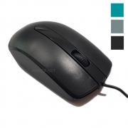 Mouse com fio USB Optico Classico Box Preciso Leve DPI Barato Simples mousse
