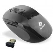 Mouse Sem Fio Wifi Usb 1600dpi Optico 3d Qualidade Cor Preto Favix