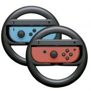 Par Volante Nintendo Switch Controle Joy-coin Grip Mario Kart Adaptador Corrida
