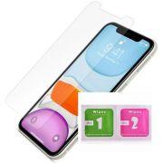 Película iPhone Vários Modelos Nano Gel + Kit Limpeza Hlxy