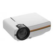 Projetor Aao Yg400 Portátil Lcd Projetor 1080p 1200 Lúmens