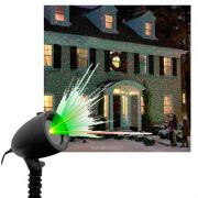 Projetor Laser Led Natal Favix Casa Controle Remoto Espeto Jardim Holofote 35w