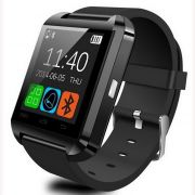 Relogio Bluetooth Smartwatch u8 Compativel Iphone Android Sem fio Preto