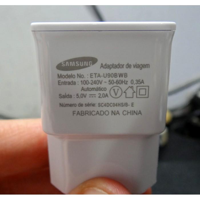 Carregador Samsung Galaxy S4 S3 Mini Todos 1A Lite Note Duos  - HARDFAST INFORMÁTICA